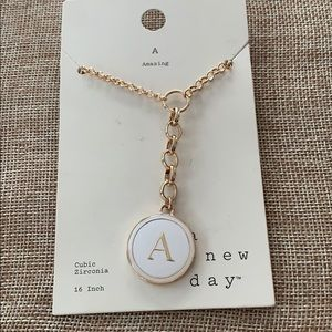 "Initial ""A"" (Amazing) Necklace"